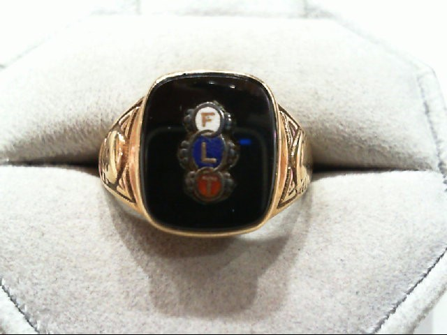 Gent's Gold Ring 10K Yellow Gold 5.2g