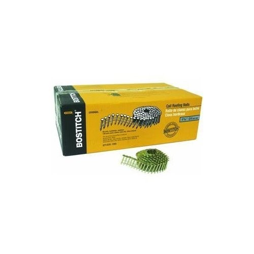 """Bostitch CR3DGAL 1 1/4"""" COIL ROOFING NAILS (7200EA)"""