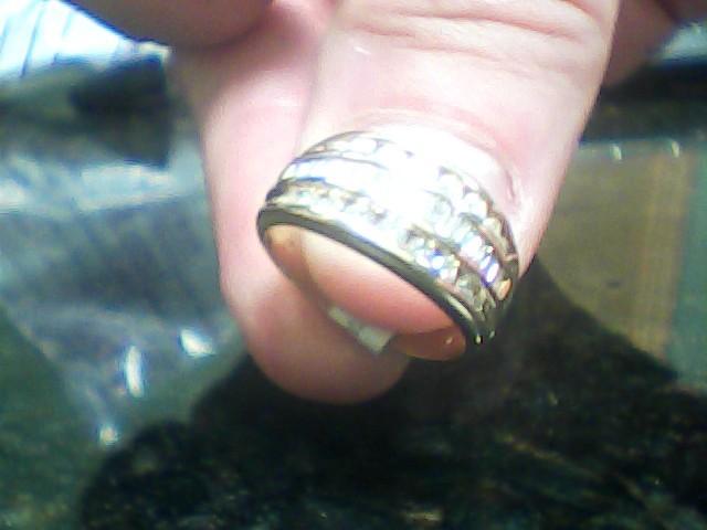 Lady's Diamond Wedding Band 38 Diamonds 0.56 Carat T.W. 14K Yellow Gold 3.1dwt
