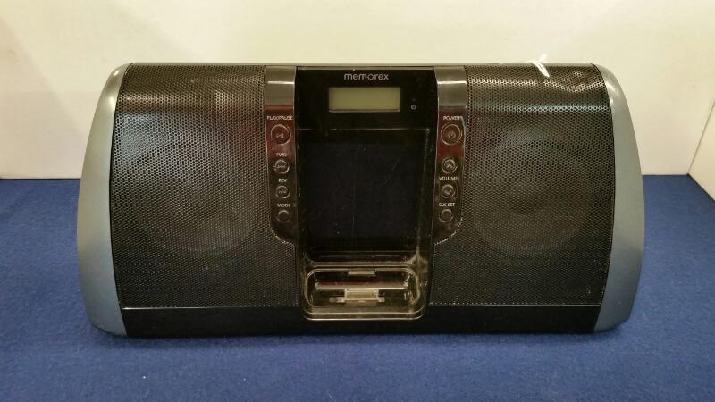 MEMOREX IPOD/MP3 Accessory MI3020 BLK