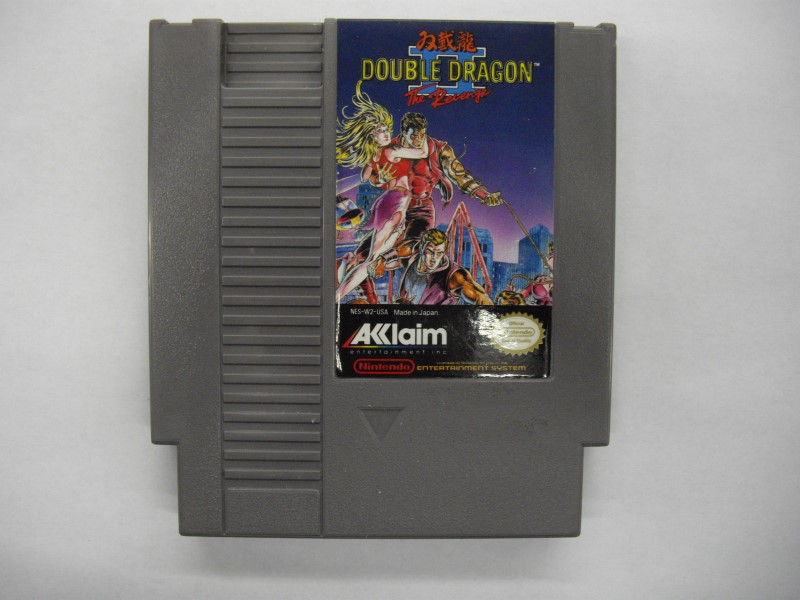 NINTENDO NES Game DOUBLE DRAGON II