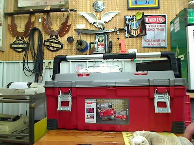 Tool Box with Tools TOOL BOX WITH TOOLS