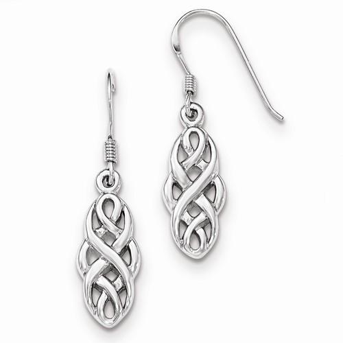 Silver Earrings 925 Silver 3.56g