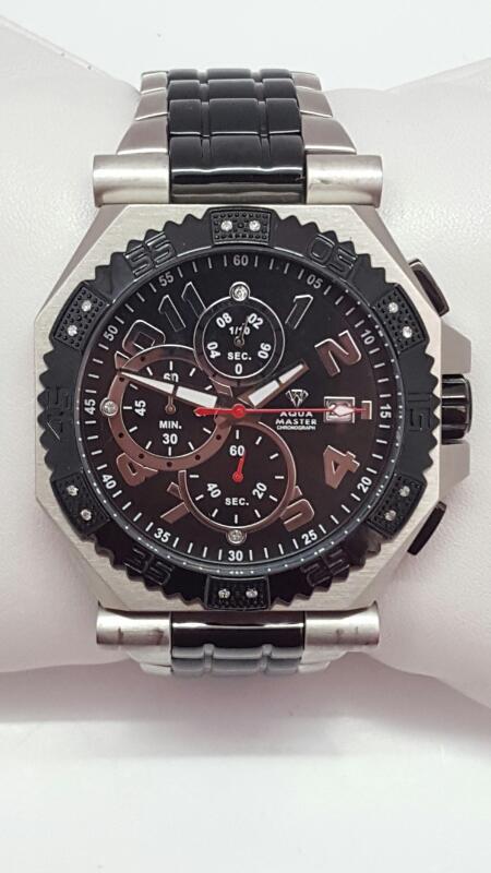 AQUA MASTER Gent's Wristwatch SAM-186
