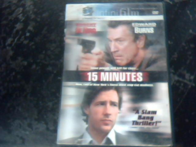 DVD MOVIE DVD 15 MINUTES