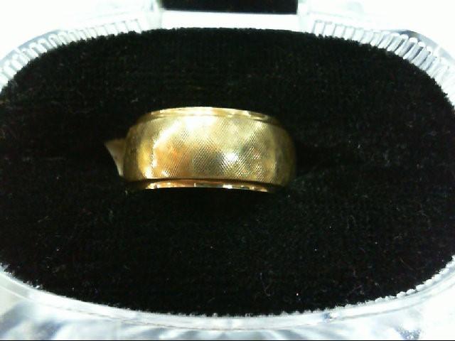 Lady's Gold Wedding Band 14K Yellow Gold 5.2g