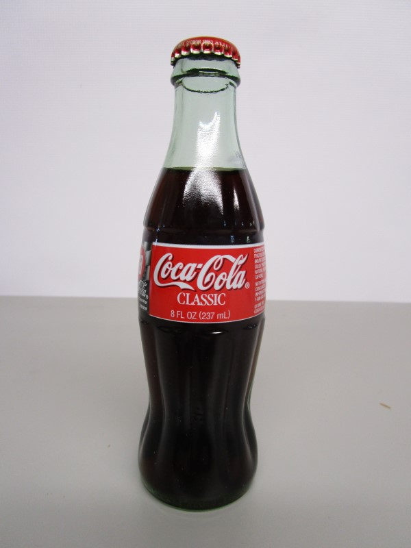 BOBBY LABONTE #18 COCA COLA BOTTLE, COLLECTOR'S PIECE