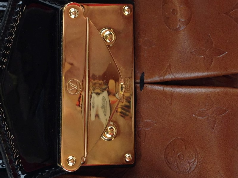 LOUIS VUITTON LIMITED EDITION EMBOSSED MONOGRAM POLLY BAG