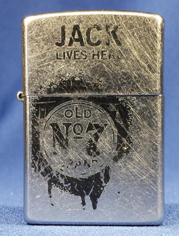 ZIPPO 2009 JACK LIVES HERE