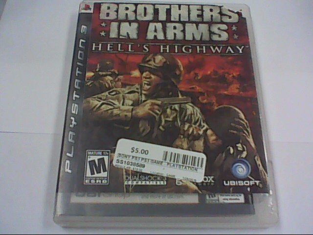 BROTHERS IN ARMS - PS3 GAME