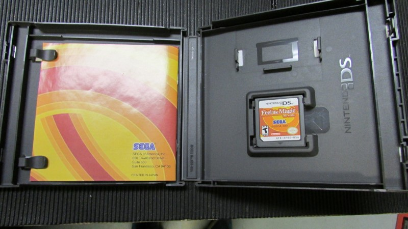 NINTENDO Nintendo DS Game FEEL THE MAGIC