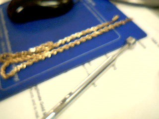 """20"""" Gold Rope Chain 14K Yellow Gold 33.3g"""