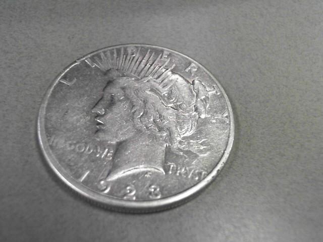 1923 PEACE DOLLAR 12.43GRAMS