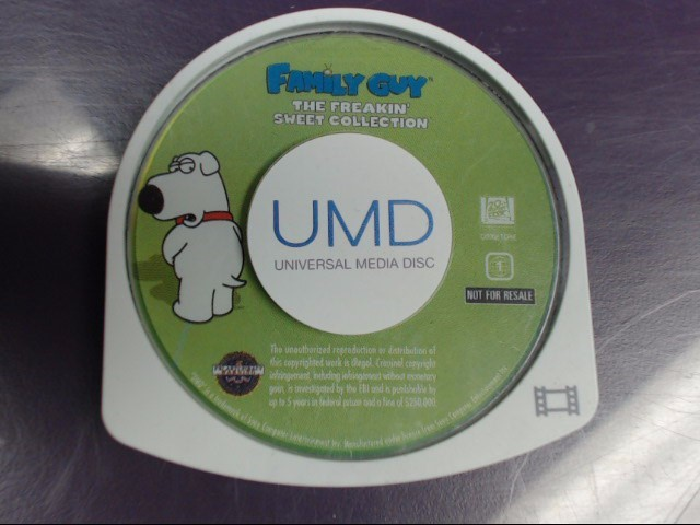 SONY PSP UMD FAMILY GUY THE FREAKIN' SWEET COLLECTION