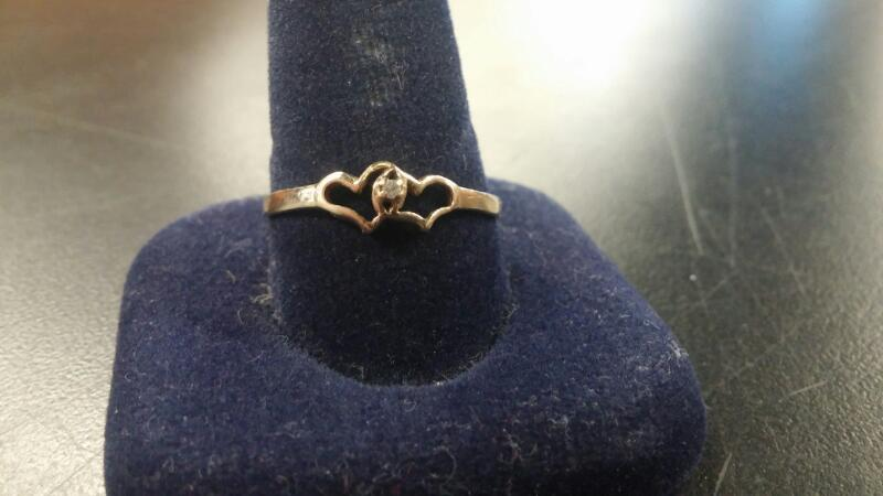Lady's Gold Ring 10K Yellow Gold 0.9dwt Size:11.5