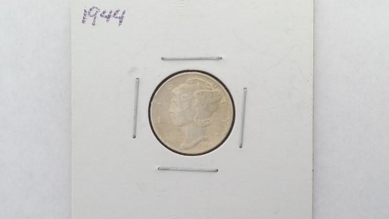 United States 1944 Mercury Dime