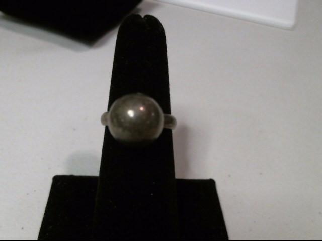 .925 Silver Ball Ring