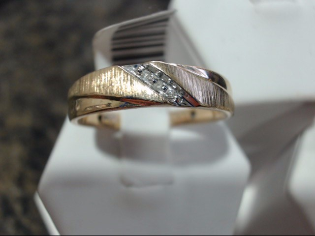 Gent's Gold Ring 10K Yellow Gold 3g