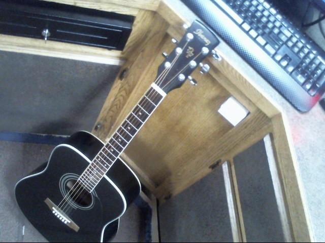 IBANEZ Acoustic Guitar PF104SJP-BK-27-01
