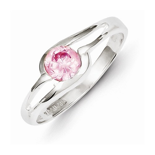 Lady's Silver Ring 925 Silver 2.7g Size:7
