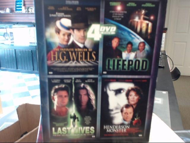 DVD BOX SET DVD SCI-FI THRILLERS 4 MOVIE