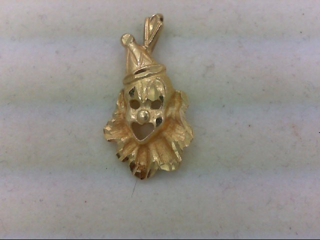 Gold Pendant 14K Yellow Gold 1.8g
