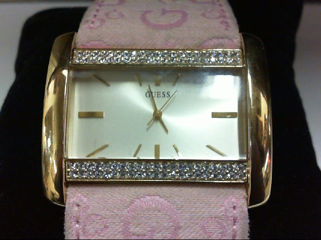GUESS PINK STRAP WATCH SER