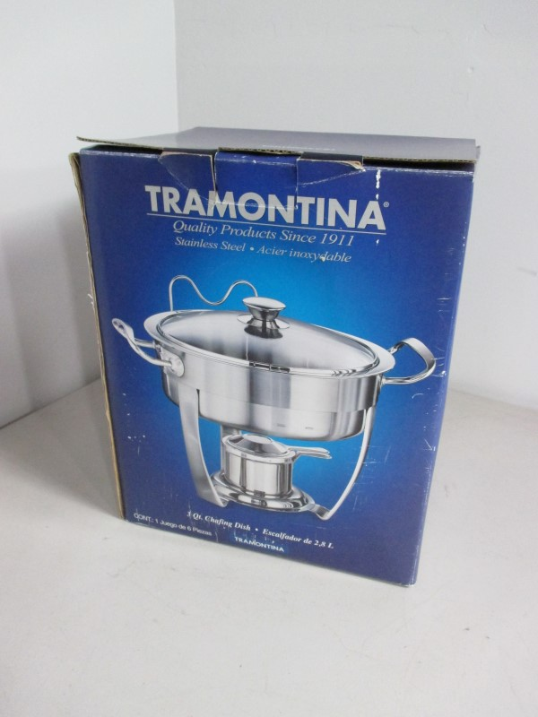 TRAMONTINA Microwave/Convection Oven 3 QT CHAFING DISH