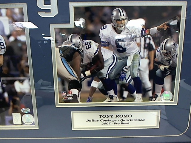Tony Romo 2007 Pro Bowl Autographed Photo