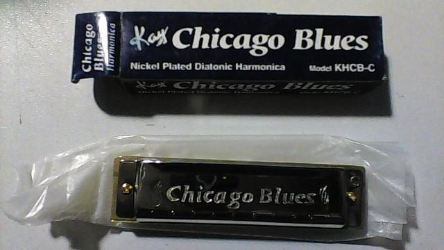 CHICAGO BLUES Harmonica KHCB-C