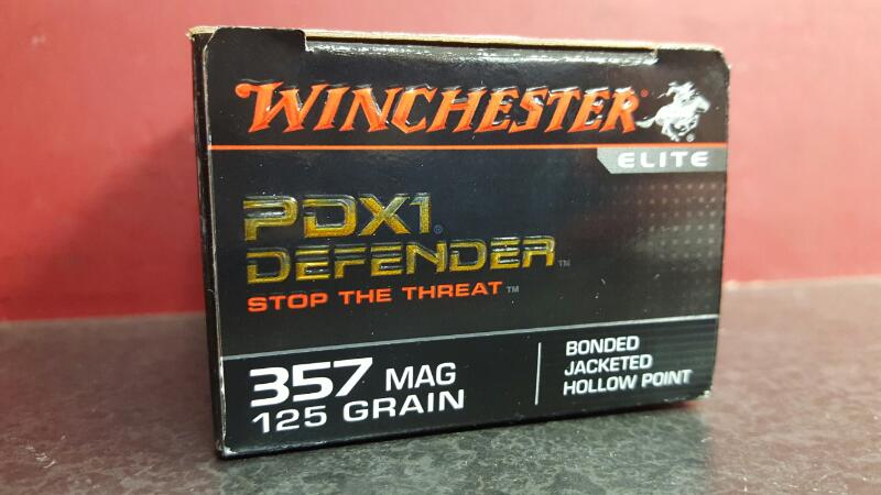 WINCHESTER Ammunition S357MPDB 357 Magnum