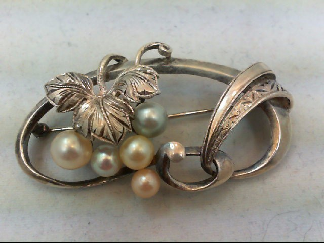 Silver Brooch 925 Silver 10.3g