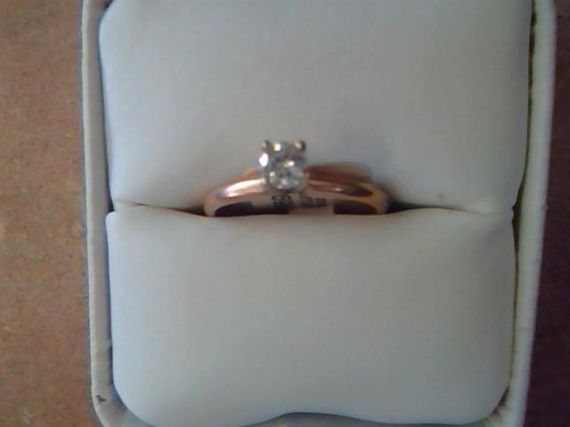 DIAMOND RING JEWELRY , 14KT, 2.2