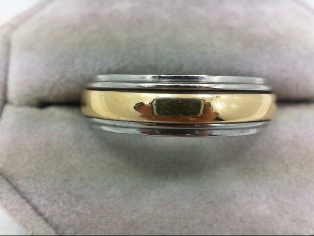 Gent's Gold Ring 14K Yellow Gold 8g Size:10