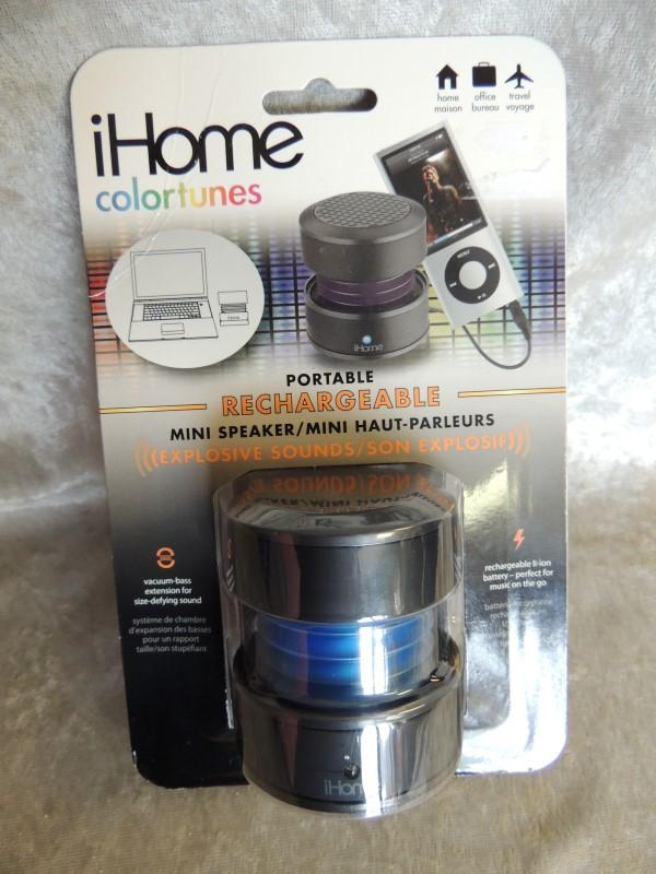 IHOME IPOD/MP3 Accessory IHM60GK IHOME IHM60UX COLORTUNES