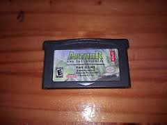 NINTENDO GAME BOT ADVANCE ARTHUR AND THE INVISIBLES THE GAME