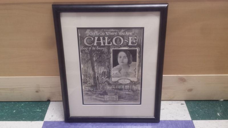 """1927 SHEET MUSIC """"I GOT TO GO TO WHERE YOU ARE"""" CHLO-E"""