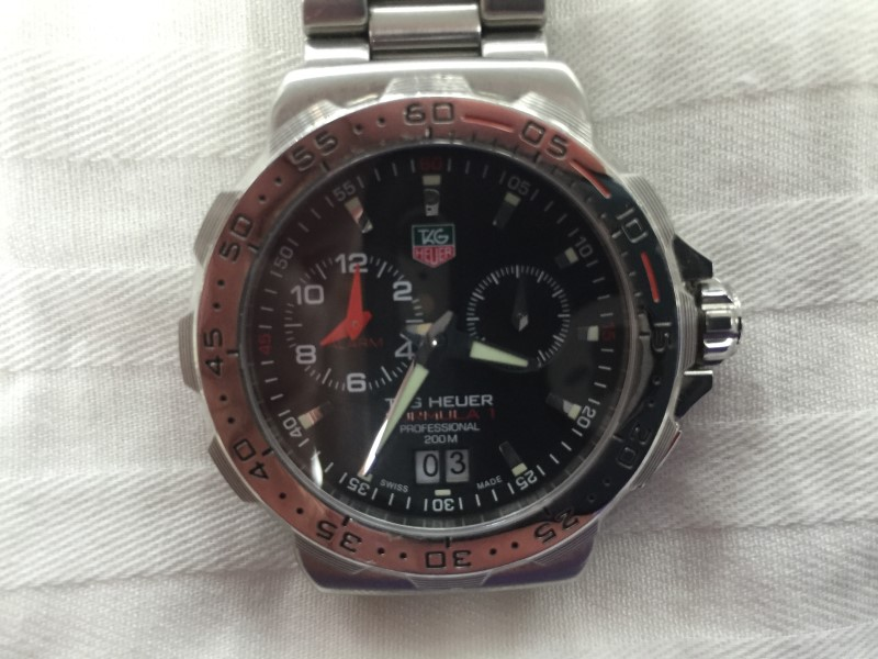 TAG HEUER GENTS WATCH FORMULA 1 WAH111C