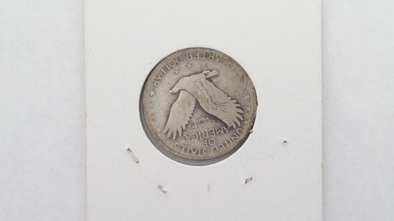 United States 1927-D Standing Liberty Silver Quarter
