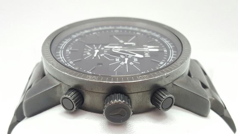 NIXON Gent's Wristwatch The Magnacon SS Gunmetal