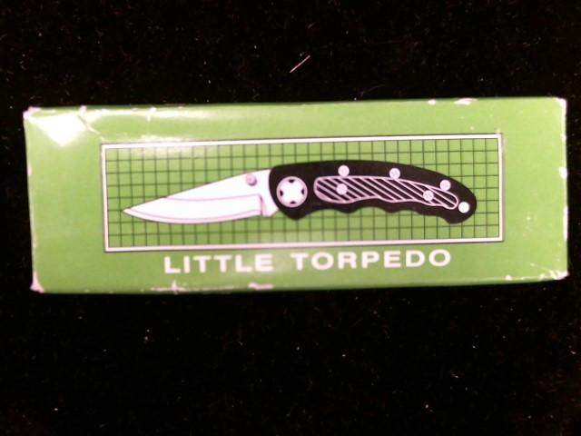 FROST CUTLERY Pocket Knife LITTLE TORPEDO
