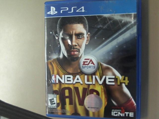 ps4-NBA LIVE 14