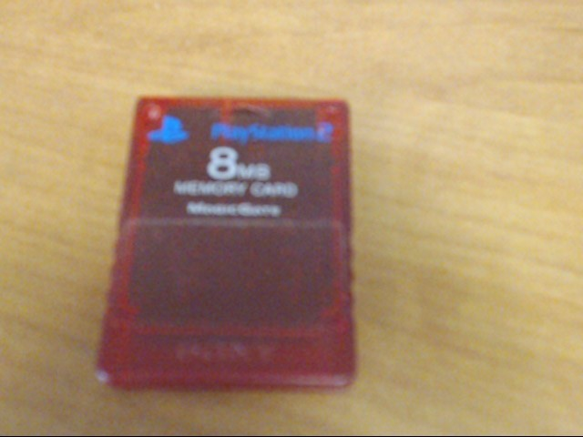 SONY Video Game Accessory PLAYSTATION 2 8 MB MEMORY CARD