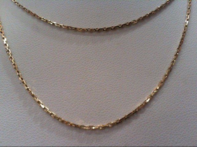 "24"" Gold Fashion Chain 14K Yellow Gold 4.4g"