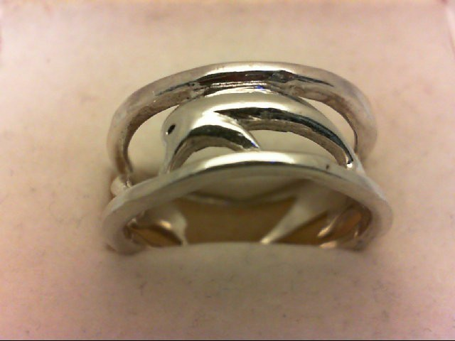Lady's Silver Wedding Band 925 Silver 3.8g