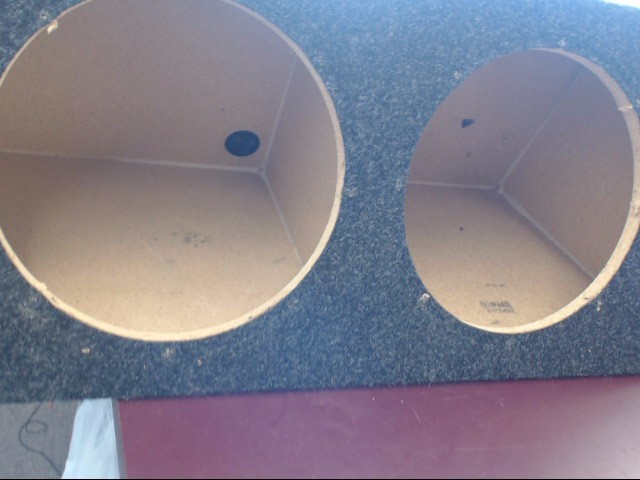 DUAL Car Speakers/Speaker System 12 INCH SUB BOX