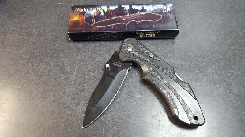 FROST CUTLERY Pocket Knife NIGHT STALKER II