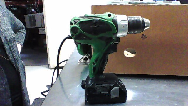HITACHI 18V DRILL,BATTERY DS18DSAL (NO CHARGER)