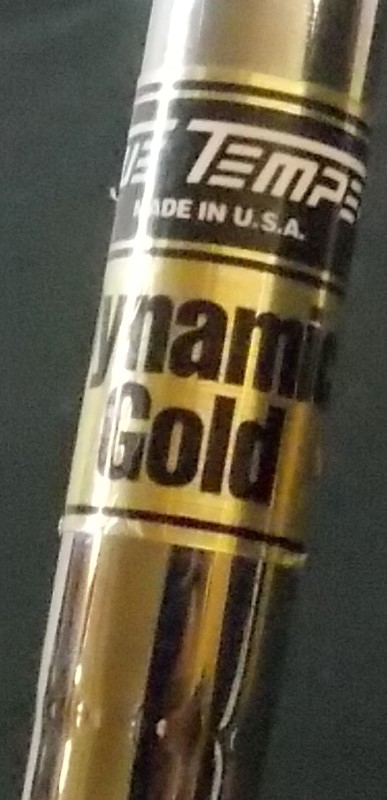 NIKE, VR PROCOMBO CB 6 IRON, RH, FORGED S, USA, TRUE TEMPER DYNAMIC GOLD, S300