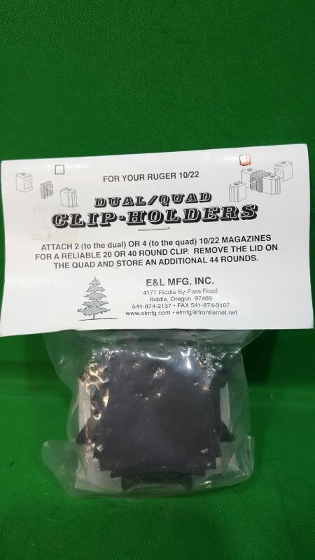 E&L Clip/Magazine QUAD CLIP-HOLDER 10/22